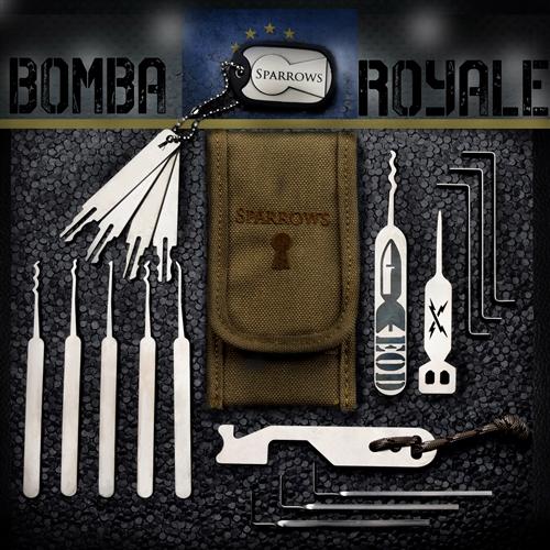 Lock Pick Set Bomba Royale