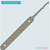 LOCKMASTER® - Double Peaked Valley Rake Lockpick