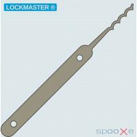 LOCKMASTER® - Quad Peaked Rake Lockpick