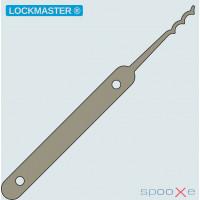 LOCKMASTER® - Tripple Peaked Rake Lockpick