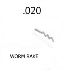 Lockpick  Worm Rake 0508